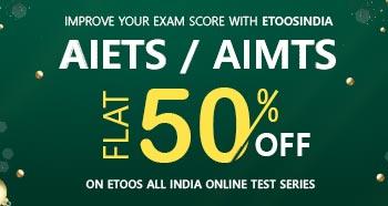 AIETS / AIMTS - Flat 50% Off