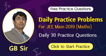 Daily Practice Problems by GB Sir