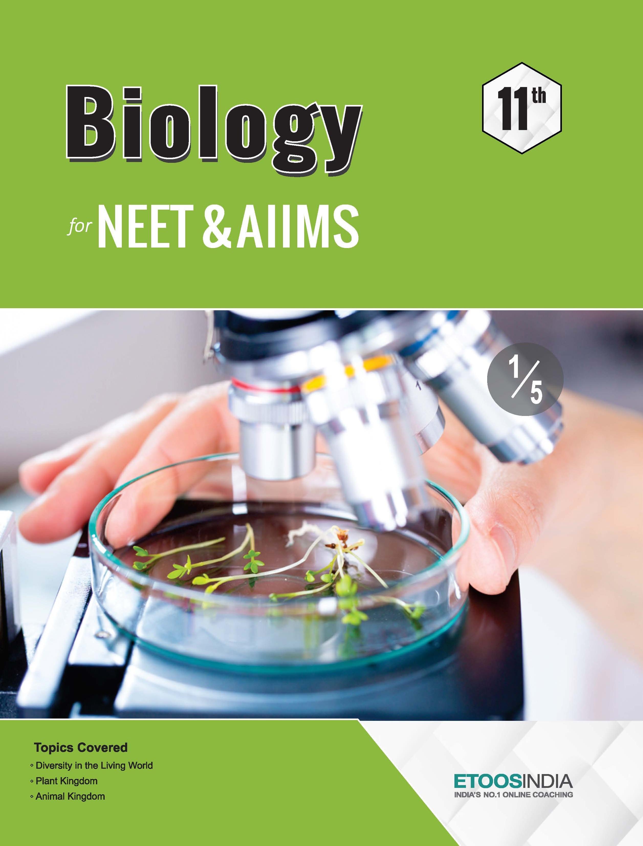 best biology books for neet