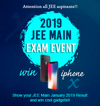 2019 JEE MAIN EXAM EVENT (Jan.)