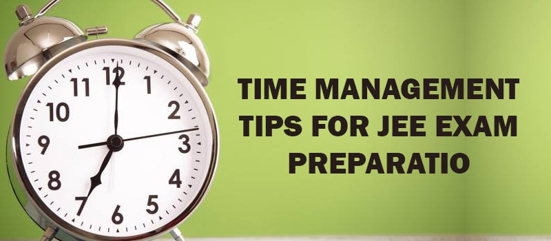 time management tips for iit jee.