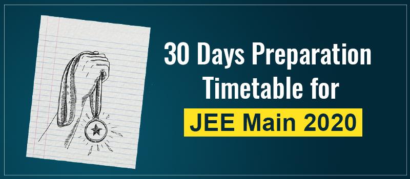 JEE Main Preparation tips.