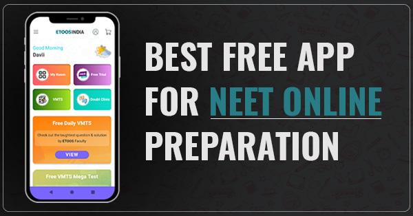 neet preparation app.