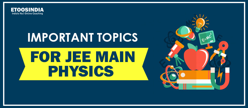 Important topic for JEE Main Physics 2021.