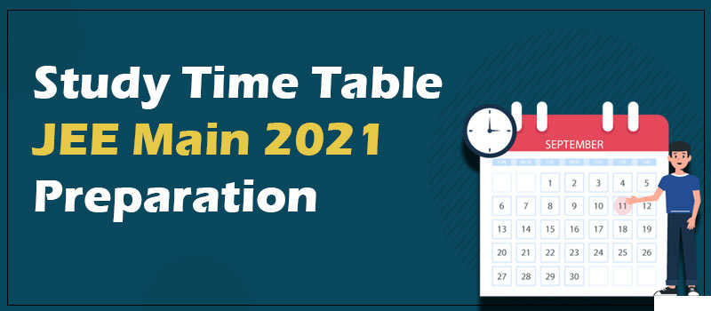 time table for jee main 2021.