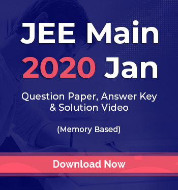 JEE Main 2020 Solution Video