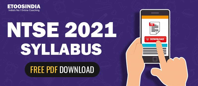 ntse syllabus 2021.