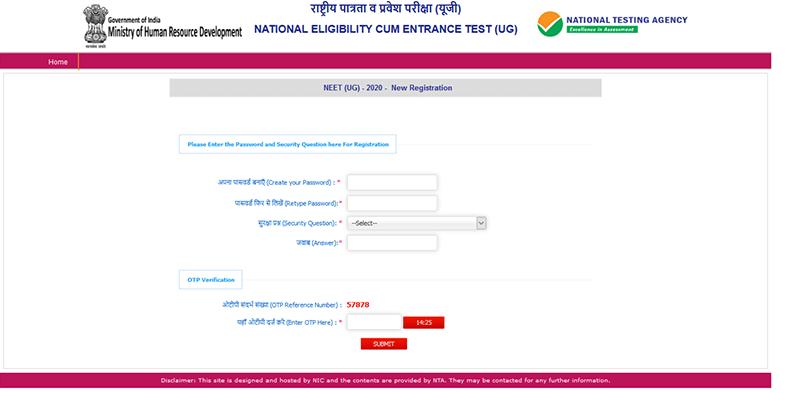 neet registration 2021.