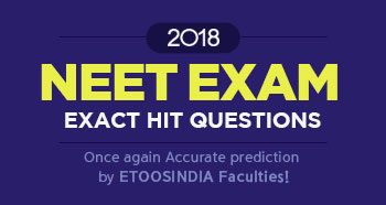 2018 Neet exact exam hit questions.