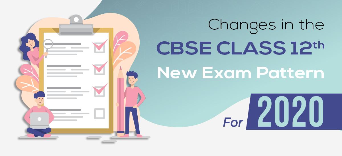 2020 CBSE Class 12 exam pattern.