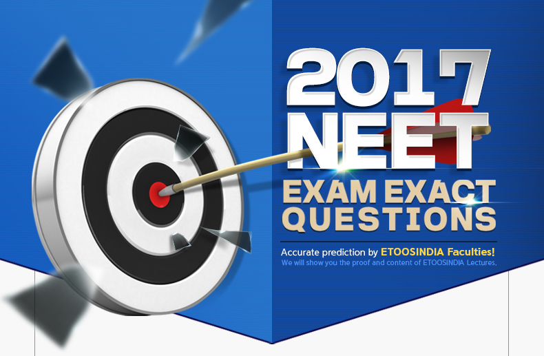 2017 NEET MAIN EXAM QUESTIONS HIT!