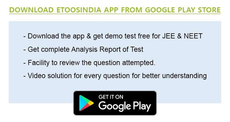 Etoos India Video Mock Test Series (VMTS) for JEE / NEET