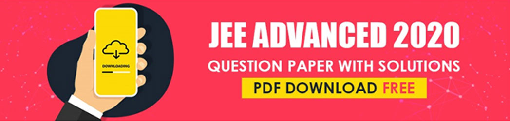 JEE Advanced 2020 Question Paper with Solutions Pdf Download.