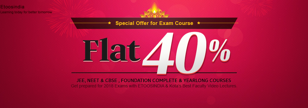Special Offer For ExamCourse Flat 40%
