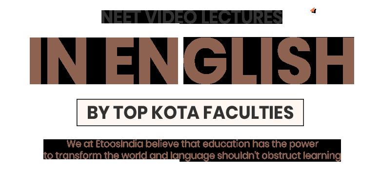 ETOOSINDIA VIDEO LECTURES IN ENGLISH