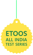 ETOOS ALL INDIA TEST SERIES